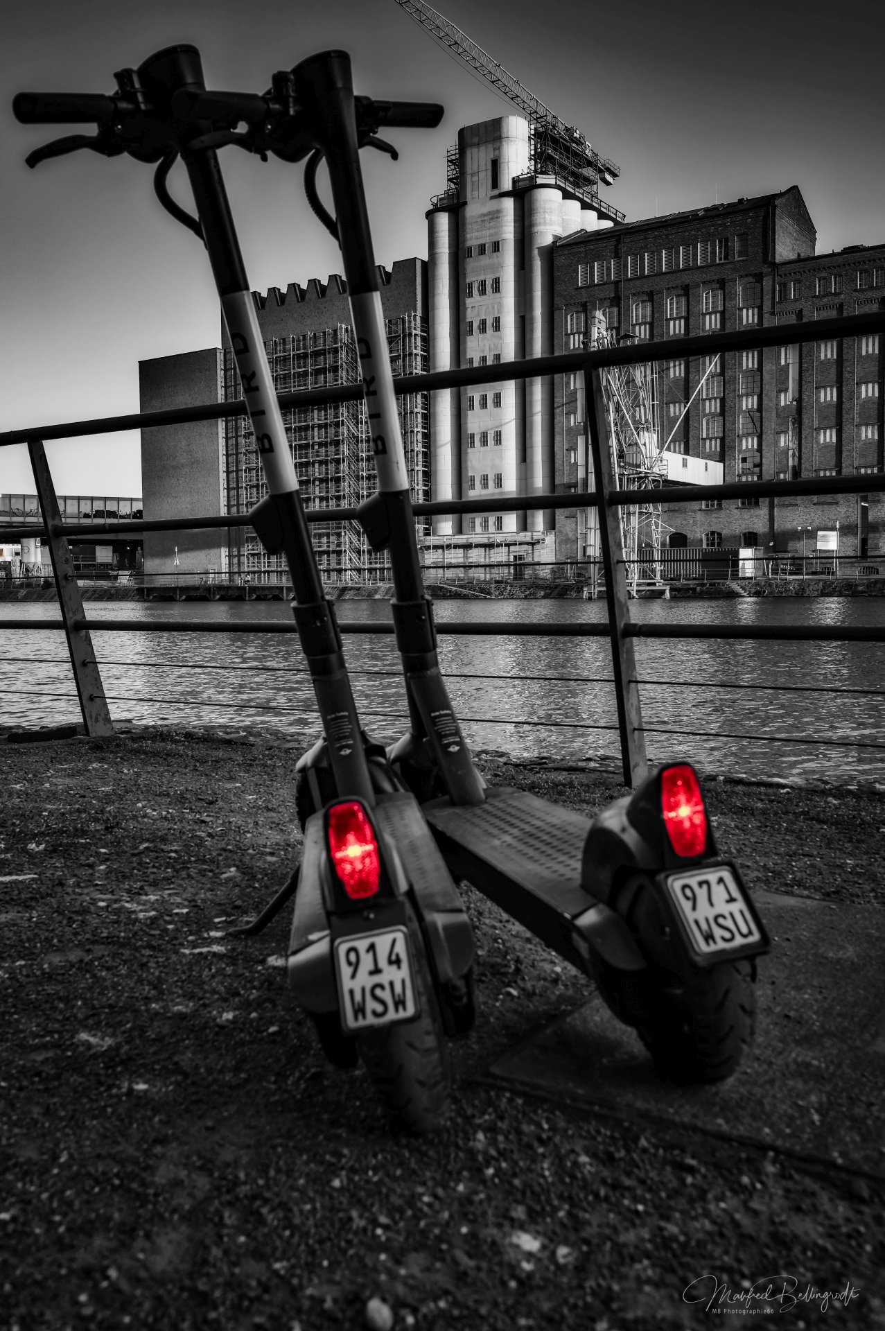 E-Roller Innenhafen